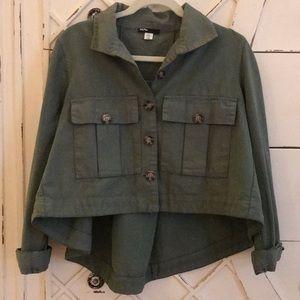 BDG Green Utility Jacket